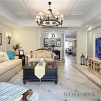 美式复式客厅设计实景图