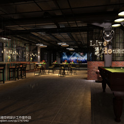 """Live house""工业风酒吧设计_3104128"
