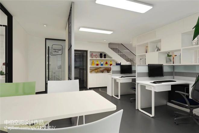 金明国际办公室装修设计_310588