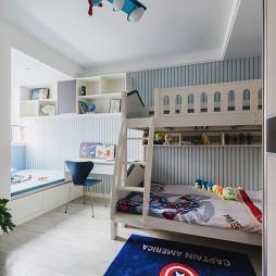90平现代儿童房设计图片