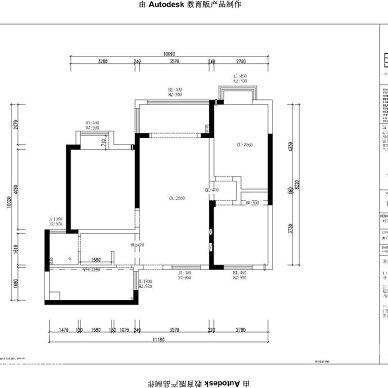 芜湖官山翰林#109平米现代简约设计案例_3111735