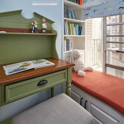 110平美式儿童房设计图片