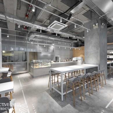 NOC COFFEE室内设计图