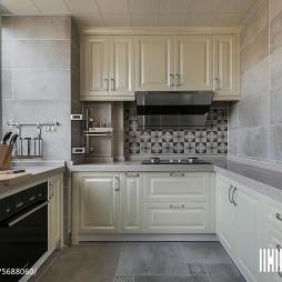 120平简美厨房设计图