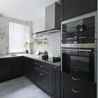 北欧复式厨房实景图