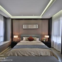 现代风别墅卧室设计图