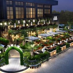 成都汇融广场花园餐厅设计_3120882