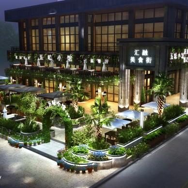 成都汇融广场花园餐厅设计_3120883