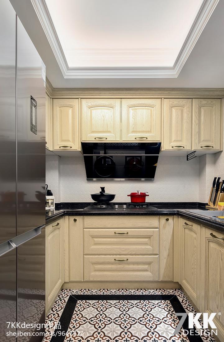 卫生间实景_简约小户型厨房实景图 – 设计本装修效果图