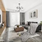88平北欧客厅设计图