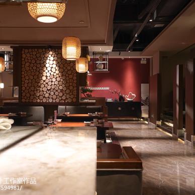 拉萨--九门川菜府邸餐厅设计_3131132