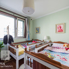 美式风格三居儿童房设计图