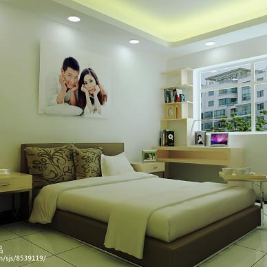 卧室简约风格_3132449