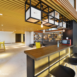 Co-Working Space小吧台设计图