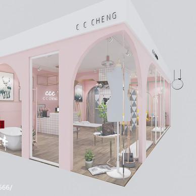 朝阳广场服装店设计_3133935