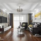 经典美式三居客厅设计图