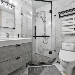 120㎡卫浴设计图