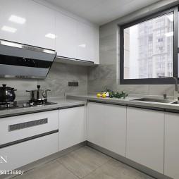 四居现代式厨房设计图