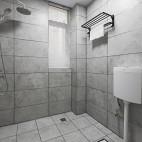 三居简约式卫浴设计图