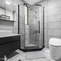 三居简约式卫浴设计图片