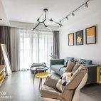 88平二居客厅设计图片