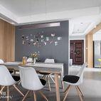 130平二居餐厅设计图