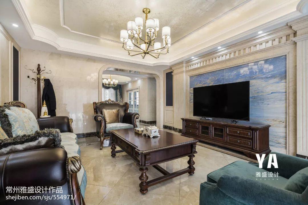 197平欧式客厅设计图