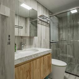 四居现代式卫浴设计图