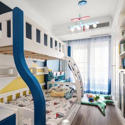 三居地中海儿童房设计图