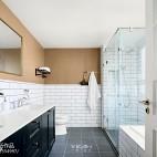 260m²复古北欧卫浴设计图片