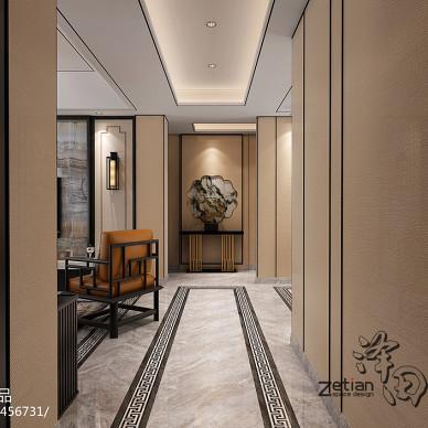 Zetian丨泽田设计 合肥 祥源城 新中式设计_3145353