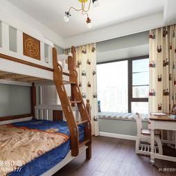 四居美式儿童房设计图片