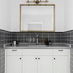 精简北欧风格洗手台设计图