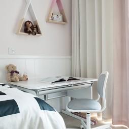 欧式儿童房书桌设计图