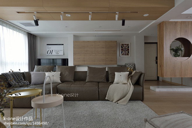 复式日式客厅设计图