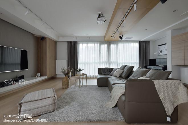 复式日式客厅设计图片