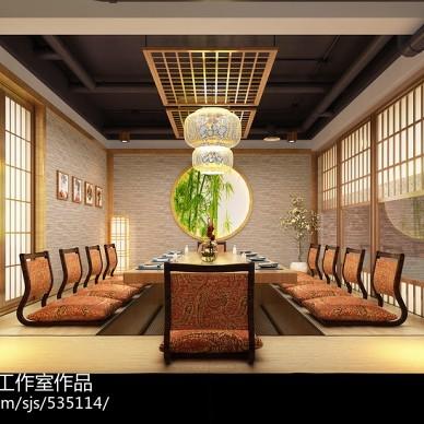 哈尔滨日本料理店面设计--涛料理居酒屋/群力财富中心_3150114