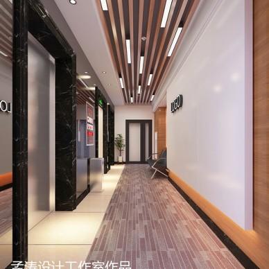 办公空间装修效果图设计 写字楼办公空间 哈尔滨办公室设计_3150126