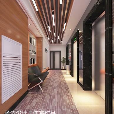 办公空间装修效果图设计 写字楼办公空间 哈尔滨办公室设计_3150125