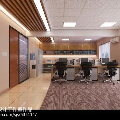办公空间装修效果图设计 写字楼办公空间 哈尔滨办公室设计_3150127