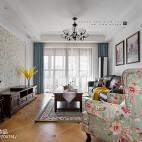 经典美式客厅设计实景图