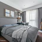 淡雅美式卧室设计图