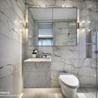 万科玖西堂叠拼样板间卫浴设计图