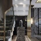 万科玖西堂叠拼样板间楼梯设计图