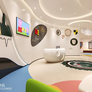 维思顿国际幼少儿英语教育机构设计