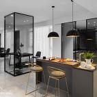 现代两居吧台设计图片