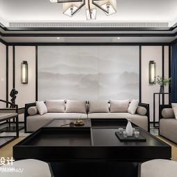 240平中式客厅设计图