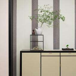 240平中式玄关设计图片