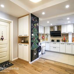 简单现代二居厨房设计图片