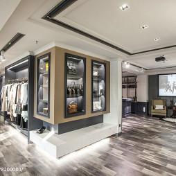 巴黎春天服装店展示柜设计图